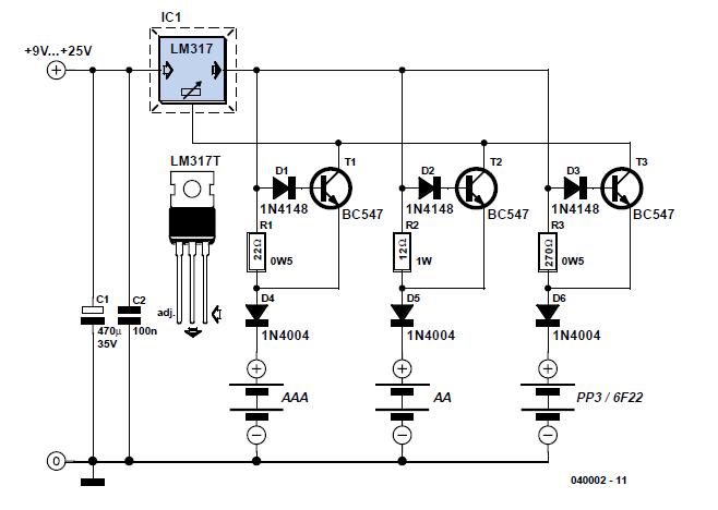 Зарядное устройство для аккумуляторов ааа своими руками